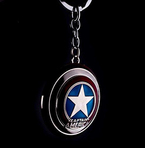 Marvel Comics Capitan America The Avengers Movie peltro portachiavi