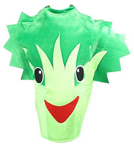 Kostüm Obst Gemüse Und - Petitebelle Obst Gemüse Halloween Weihnachten Kostüm-Satz-Party Unisex Erwachsene Wear Einheitsgröße Brokkoli Sellerie
