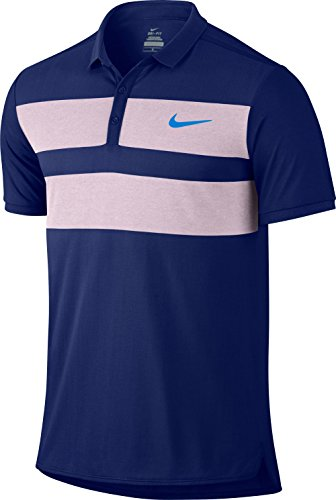 Nike Herren Advantage Dri-Fit Cool Polo Men Oberbekleidung, Dunkelblau, XXL