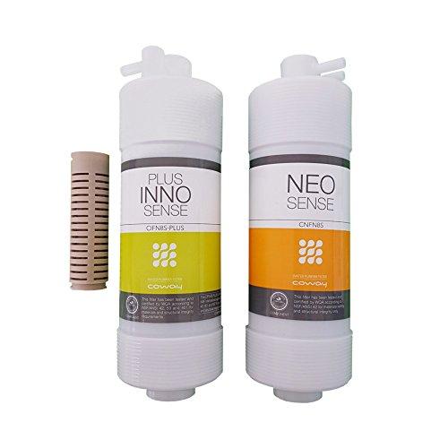 Coway Wasserfilter Umkrehrosmose-Filterset inkl. antibakteriell Filter, Filtersatz Filter