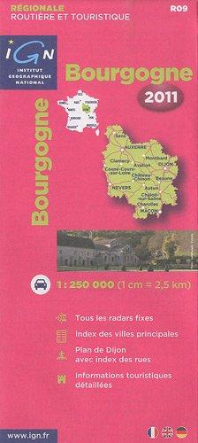 R09 Bourgogne 2011 1/250.000
