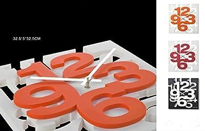 3 D Design moderno orologio da parete 1106 da cucina Baduhr office ...