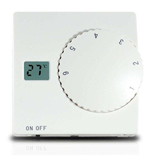 Aufputz Thermostat SAS816BT Wandthermostat Thermostatregler für Fußbodenheizung