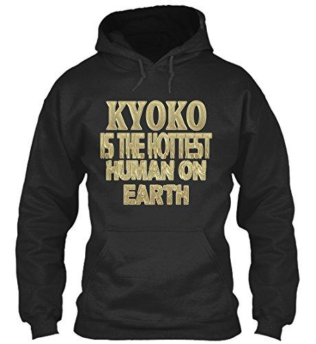 teespring Men's Novelty Slogan Hoodie - kyoko Hottest/kyoko Sensationnel