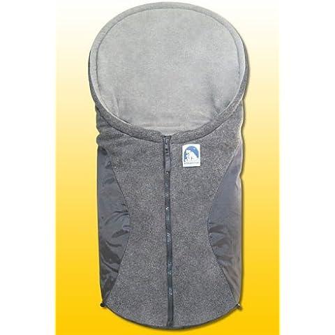 Heitmann Eisbärchen - Saco cubrepiernas para carritos de bebé, color gris