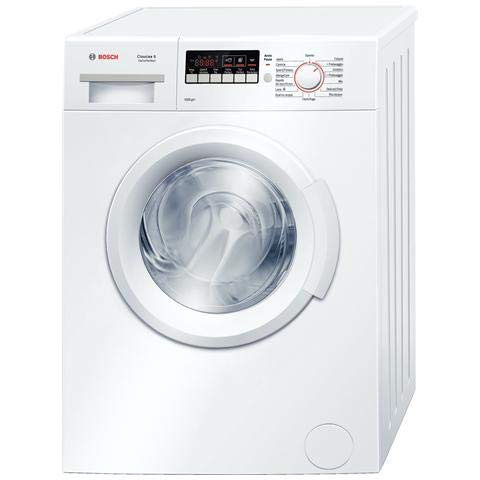 Bosch Serie 2 WAB20261II freestanding Front-load 6kg 1000RPM A+++ White washing machine - washing machines (Freestanding, Front-load, White, Left, LED, Stainless steel)