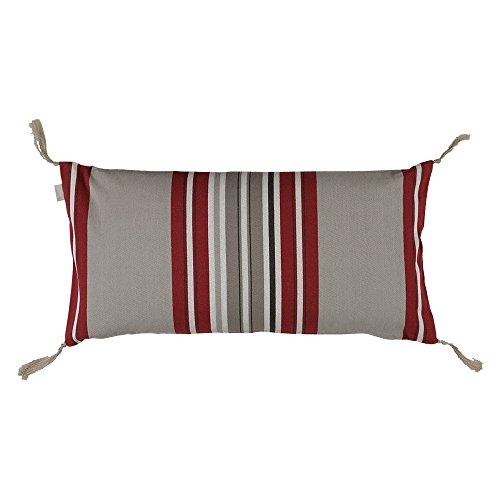 Linum Kiruna cuscino cellulare, 100% cotone, rot D90, 35x70