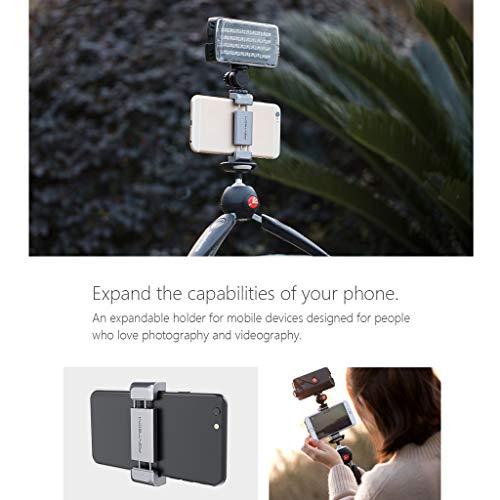 Dkings Universal-Smartphone-Kfz-Halter Kamera-Halterung für Cradle für iPhone XS XS Max X 8 8 Plus 7 SE 6S 6 Plus 6 Samsung Galaxy S6 S5 S4 LG Nexus Sony Nokia (1/4-Zoll 20) Kamerahalterung für DJI -