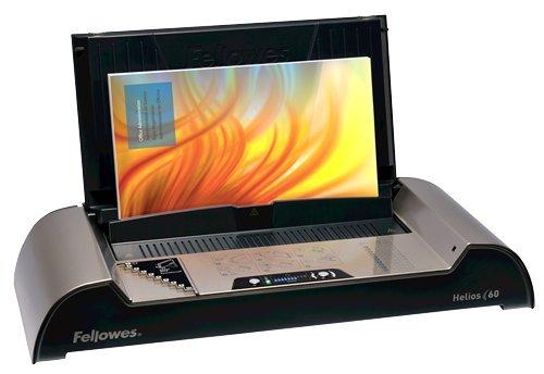 Fellowes Helios 60 - máquinas de encuadernación térmica (Grafito, Platino, 530,20 x 239,70 x 100,00 mm)