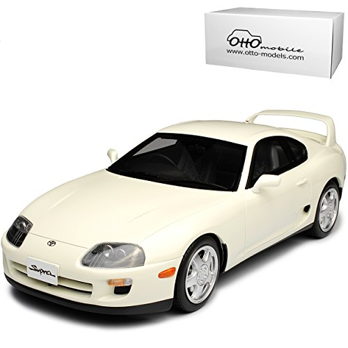 Toyota Supra MKIV Coupe Weiss 4. Generation 1993-2002 Nr 236 1/18 Otto Modell Auto (Toyota Supra Modell)