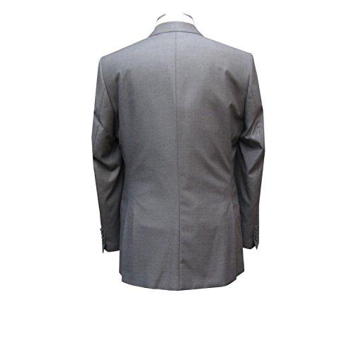 MUGA Homme Costume Cintrée 120S, Gris Gris