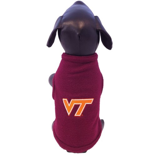 All Star Dogs NCAA Virginia Tech Hokies Polar Fleece Hundepullover, Unisex-Erwachsene, kastanienbraun, XX-Large