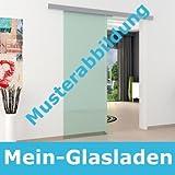 Glasschiebetürbeschlag Schiene für Glasschiebetür Beschlag LEVIDOR in ca. 2000 mm Länge für Scheiben in z.B. 775 mm 900 mm oder 1025 mm Breite, sehr hochwertig und Made in Germany laufruhih, wartungsfrei und vom deutschen Markenhersteller LEVIDOR®