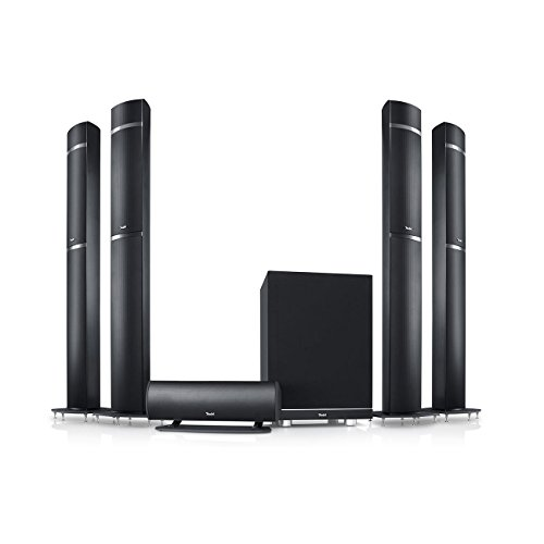 Teufel LT 5 licensed by Dolby Atmos - High-End-Dolby-Atmos-Lautsprecher-Set mit Aluminium-Säulen