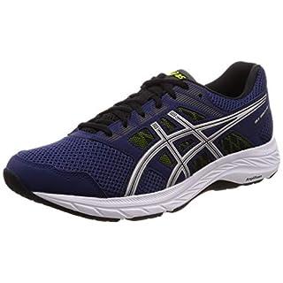 Asics Men's Gel-contend 5 Running Shoes, Blue (Indigo Blue/Silver 401), 5.5 UK