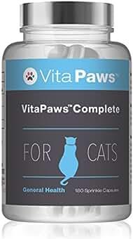 VitaPaws™ Fórmula Completa   180 Cápsulas para espolvorear   Fórmula diaria para favorecer la salud