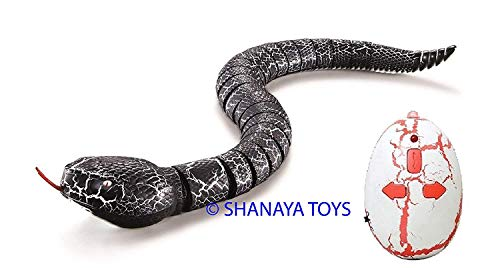 Slithering Infrared RC Rattle Snake Pet Toy - Multicolor