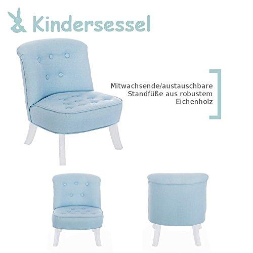 Somebunny 4055168102178 DESIGN Kindersessel, blau