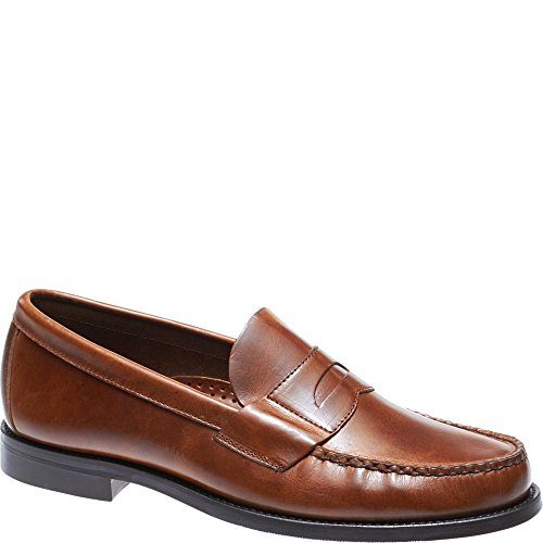 SEBAGO Men's Heritage Penny Men's Brown Leather Loafers Leather Brown