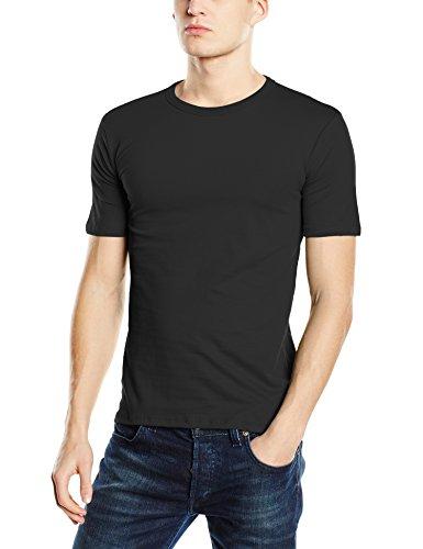 Stedman Apparel Herren Slim Fit T-Shirt Gr. XXL, Schwarz - Black Opal Preisvergleich