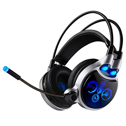 Gaming-Kopfhörer, USB, kabelgebunden, 7,1 Kanal, mit Fernbedienung - Surround-system-basis