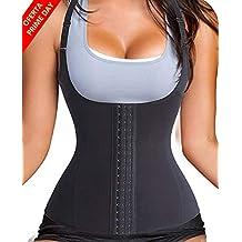 LaLaAreal Fajas Reductoras Corset Cincher Bustiers Corsé Adelgazantes de Cinturón Formación para Body Shaper Mujer (