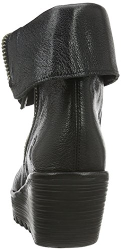 FLY London Yex668fly, Bottes Classiques Femme Noir (Black 000)