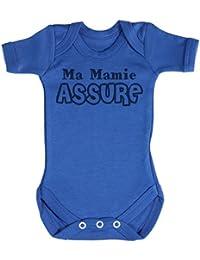TRS - Ma Mamie Assure Body bébé 100% Coton