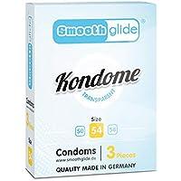 Smoothglide Kondome Transparent Gefühlsecht Made in Germany 3 Stück 54mm breit preisvergleich bei billige-tabletten.eu