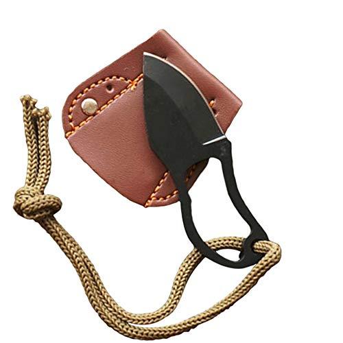 Xinlie Fixed Blade Navaja Pequeña Cuchillo Dedo acero