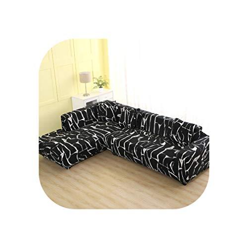 Heloise Richard Sofa-Abdeckung elastische Couch Abdeckung Sectional Stuhl-Abdeckung Es braucht Auftrag 2Pieces Sofa-Abdeckung, wenn Ihre Sofa-Ecke L-Form Sofa, Color7,1Seater und 1-Sitzer -