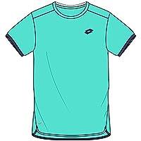 LOTTO AYDEX IV TEE B - Camiseta, Niño, Verde(GRN THA/WHT)