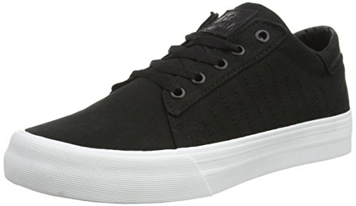 Supra Unisex - Adulto Belmont D scarpe sportive nero Size: 43,5 EU