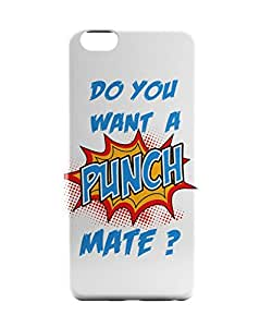 PosterGuy iPhone 6 / 6S Case Cover - Do You Want a Punch Mate Funny