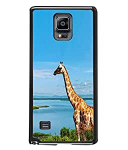 PrintVisa Natural Giraffe High Gloss Designer Back Case Cover for Samsung Galaxy Note 4 :: Samsung Galaxy Note 4 N910G :: Samsung Galaxy Note 4 N910F N910K/N910L/N910S N910C N910Fd N910Fq N910H N910G N910U N910W8