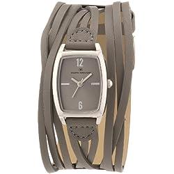 TOM TAILOR Damen-Armbanduhr Analog Quarz Leder 5410702
