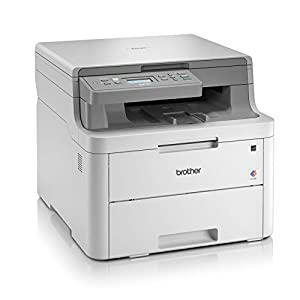 Brother Compact 3-in-1 Colour Printer grey White a4