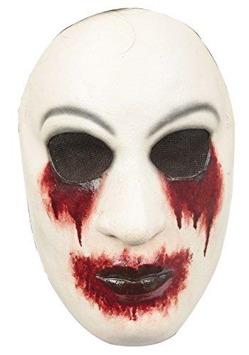 Ghoulish Productions Creepy Man Behind The Wall Adult Mask - Zalgo Kostüm
