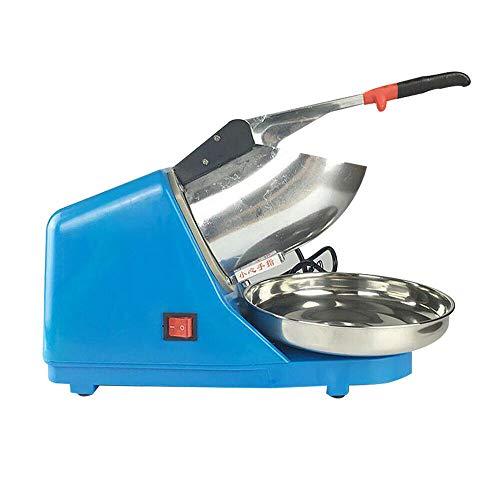 Picadora eléctrica de hielo de acero inoxidable, picadora de hielo, picadora de hielo, 220 V