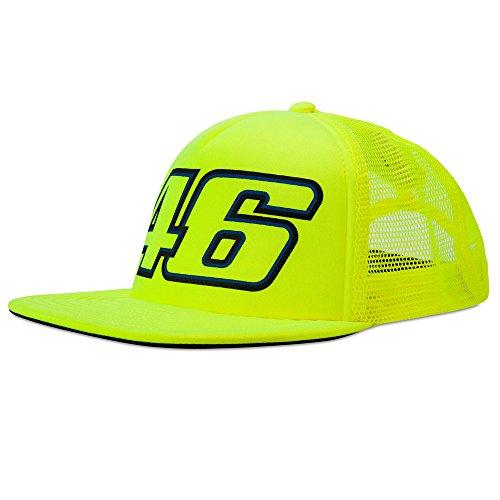 VR46Hombre Valentino Rossi Trucker Cap Fluo Tapa