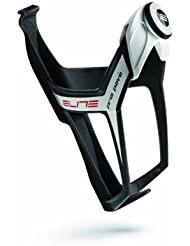 Elite Pria Pavé Microadjust Fibreglass Bottle Cage - Black/White