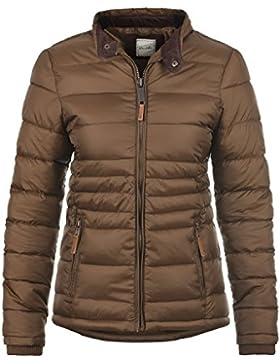 BLEND SHE Cora Damen Steppjacke Winter-Jacke mit Stehkragen aus hochwertiger Materialqualität