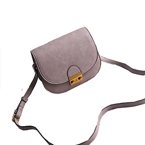 Yy.f Borse Moda Borsa Quadrante Piccolo Pacchetto Femmina Borsa Messenger Pacchetto Diagonale Spalla 2 Colori Brown