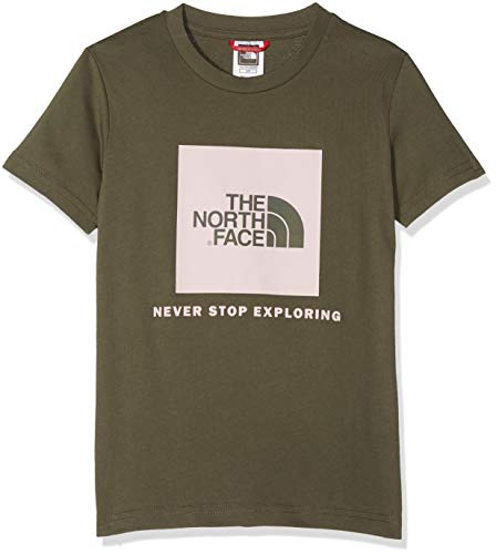 Kleine Kinder Taupe Bekleidung (THE NORTH FACE Kinder Box T-Shirt, New Taupe Green, S)