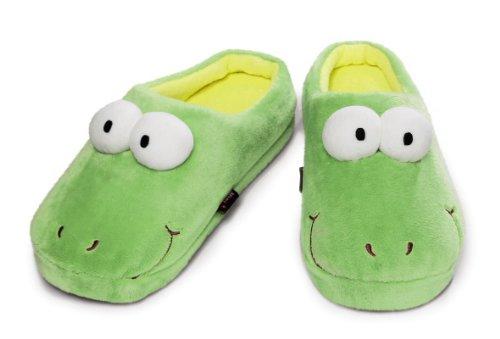 Nici 34312 - Pantofola In Peluche Taglia 35-36 (uk 2.5 A 3.5) Verde