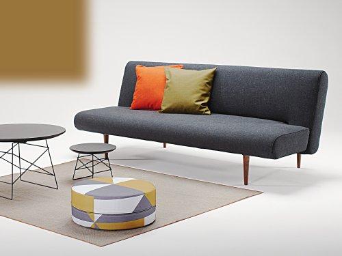 Innovation Schlafsofa Unfurl - Farbe: Schwarz