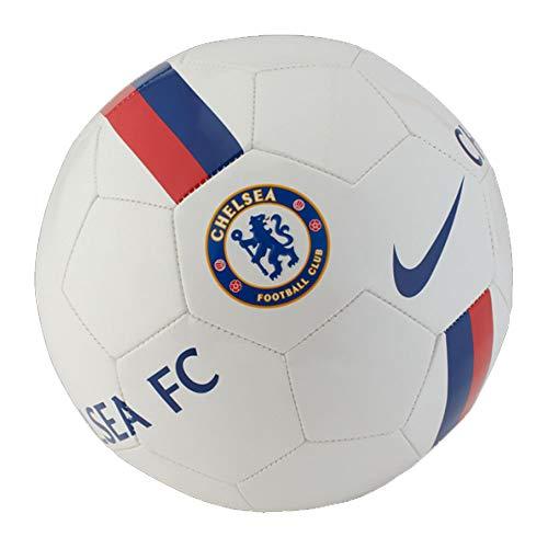 Nike Unisex- Erwachsene CFC NK SPRTS Soccer Ball, White/Pimento/(Rush Blue), 5