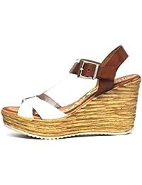 Sandalia piel Oh! my Sandals 3670 Cuña