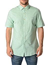 Fred Perry Fred Perry Mens Shirt 30202471 7054 VERDE