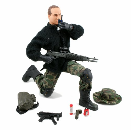 Image of World Peacekeeper 12-Inch Action Figure Set - Navy Seal Tunnel Hunter